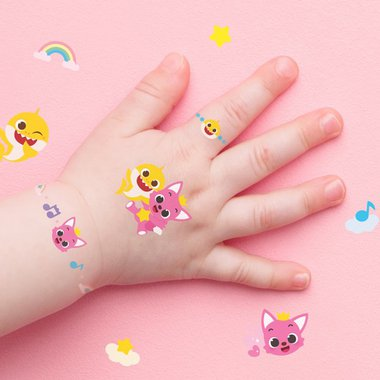 핑크퐁 아기상어 타투 스티커